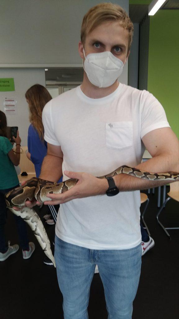 Reptilien-Schau